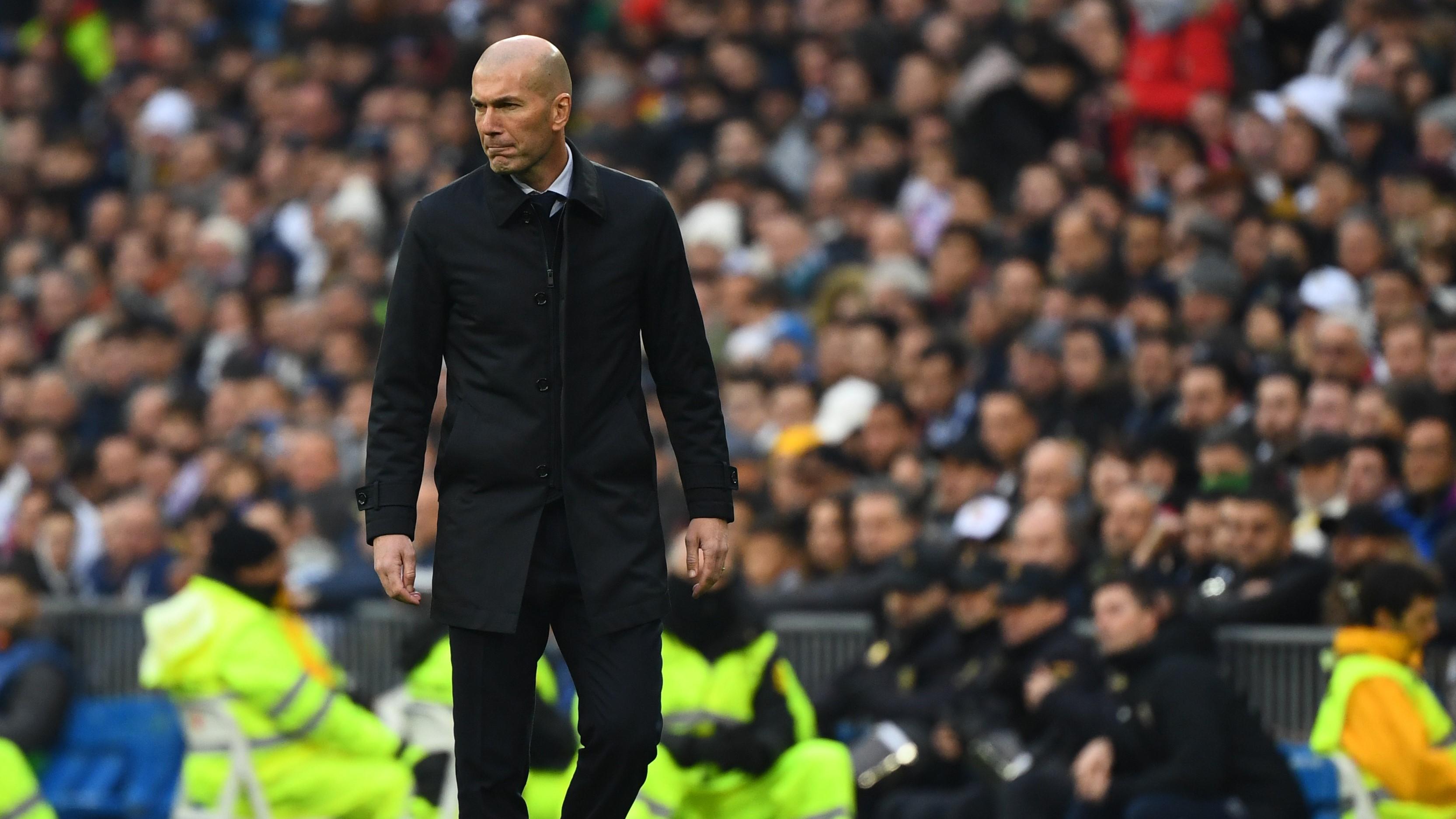 """Real Madrid - Zinédine Zidane : """"L'arbitre a fait ce qu'il avait à faire"""""""