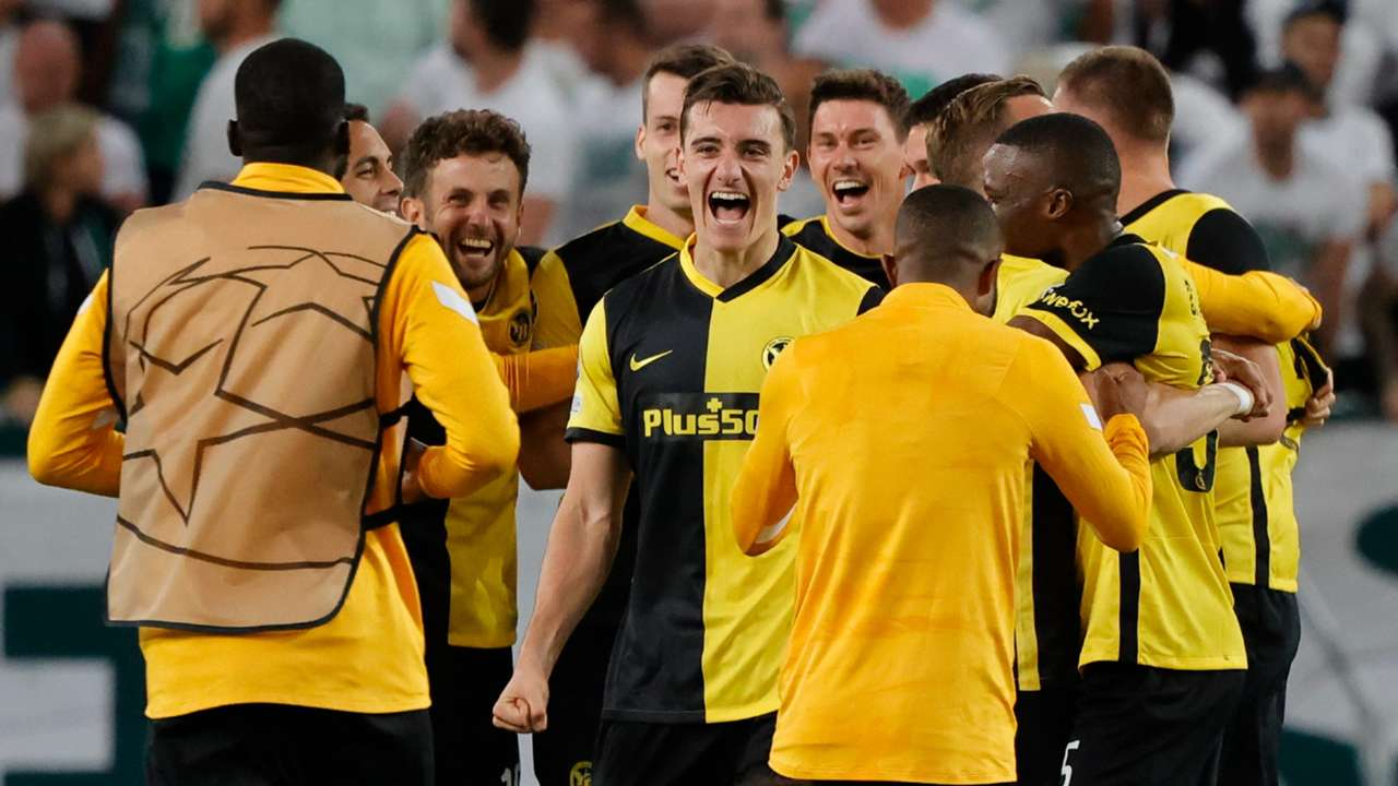 Young Boys Champions League 2021-22