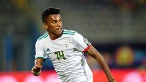 Algeria's Hicham Boudaoui at Afcon 2019