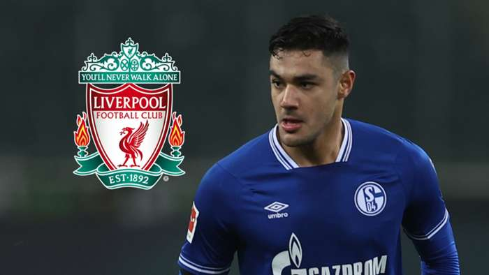Ozan Kabak, Schalke, Liverpool badge