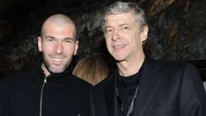 Zinedine Zidane Arsene Wenger