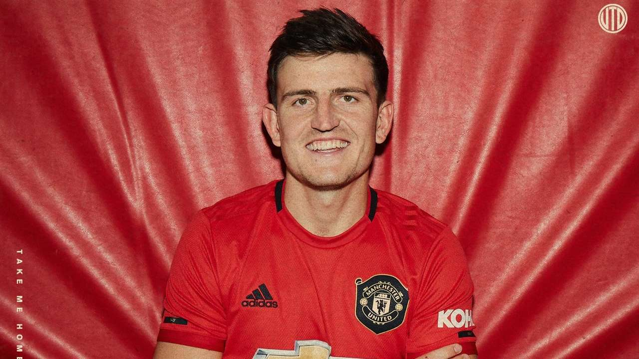 Harry Maguire Manchester United 2019