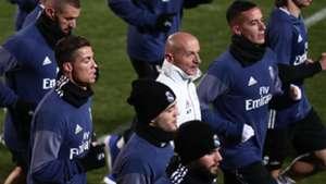 Antonio Pintus Real Madrid training 2016