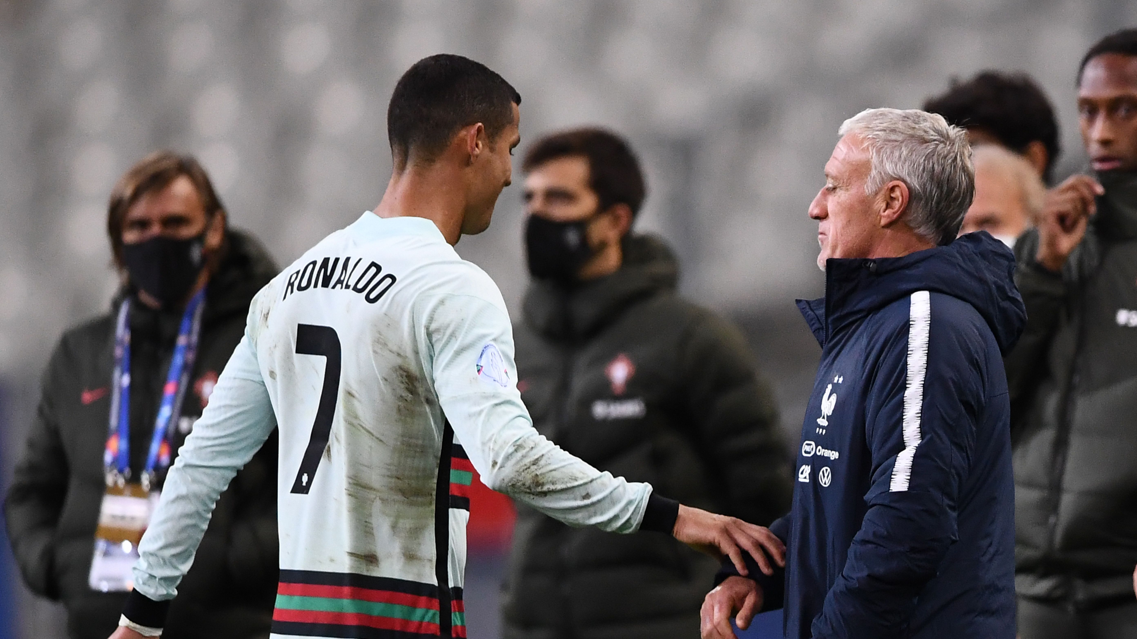 'We didn't see Ronaldo too much' - Deschamps delighted as France continue Portugal star's drought