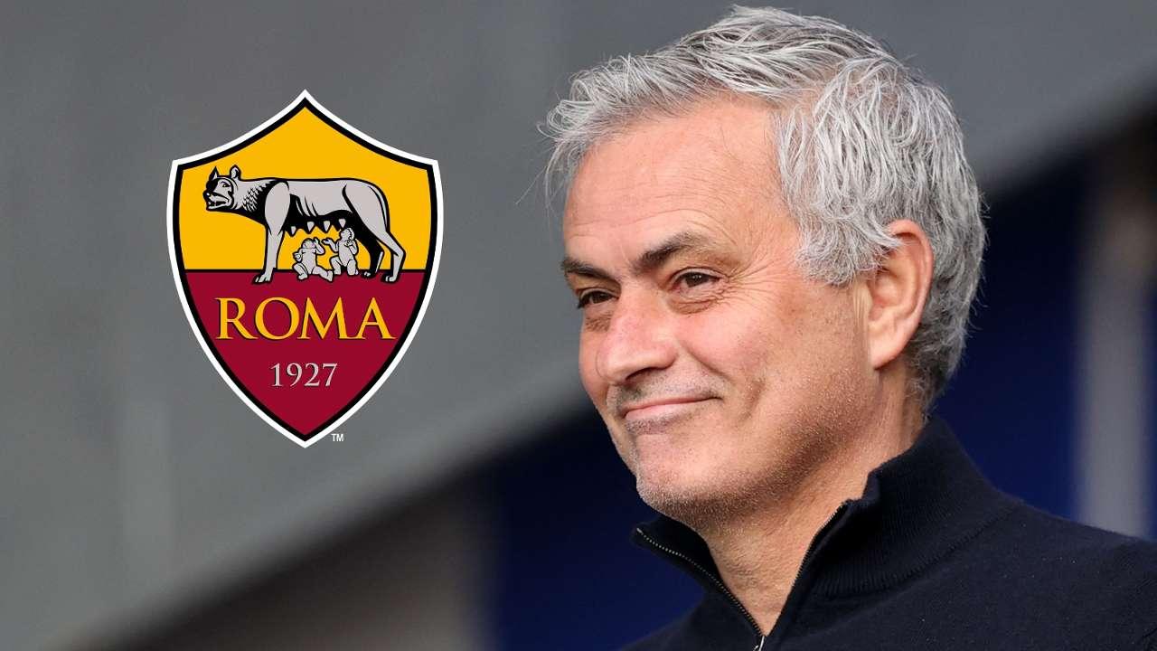 Jose Mourinho Roma GFX