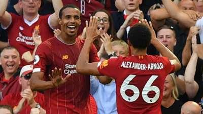 Joel Matip Liverpool 2019-20