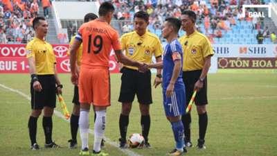 SHB Đà Nẵng Quảng Nam Vòng 23 V.League 2017
