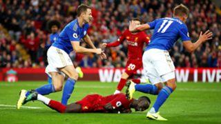 Sadio Mane Liverpool Leicester City