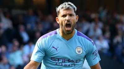 Sergio Aguero Manchester City 2019