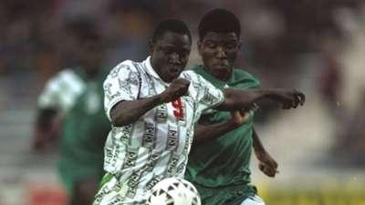 Rashidi Yekini of Nigeria vs. Zambia