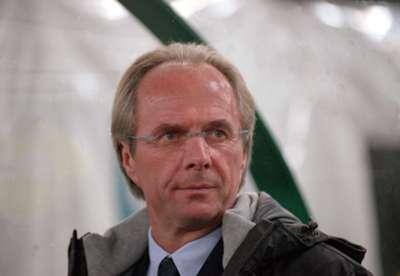 Sven Goran Eriksson Lazio Serie A 2000
