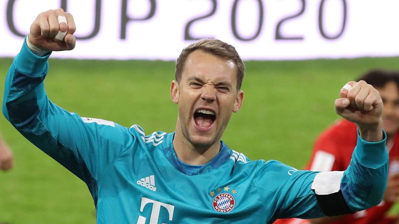 Manuel Neuer Bayern Munich 2020-21