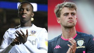 Eddie Nketiah and Patrick Bamford  United 2019-20