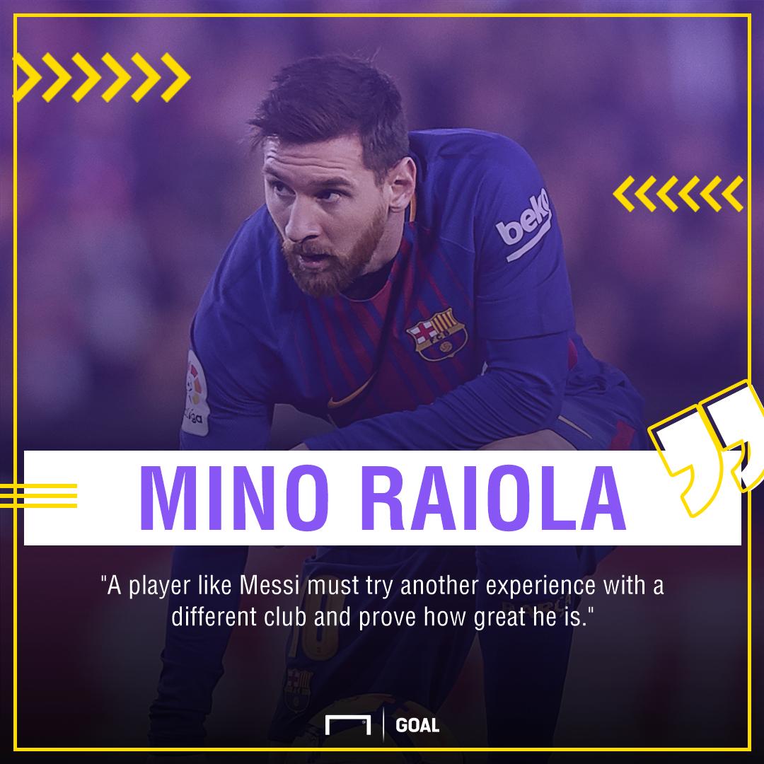 GFX Mino Raiola on Messi