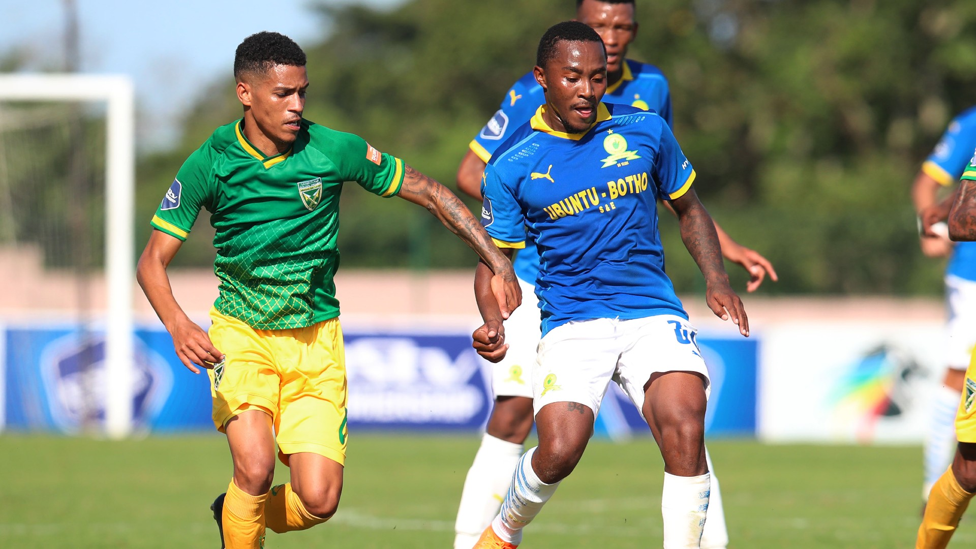Golden Arrows 1-1 Mamelodi Sundowns: Abafana Bes'thende fight back to hold Masandawana