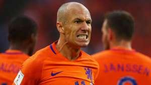 Arjen Robben Netherlands 2017