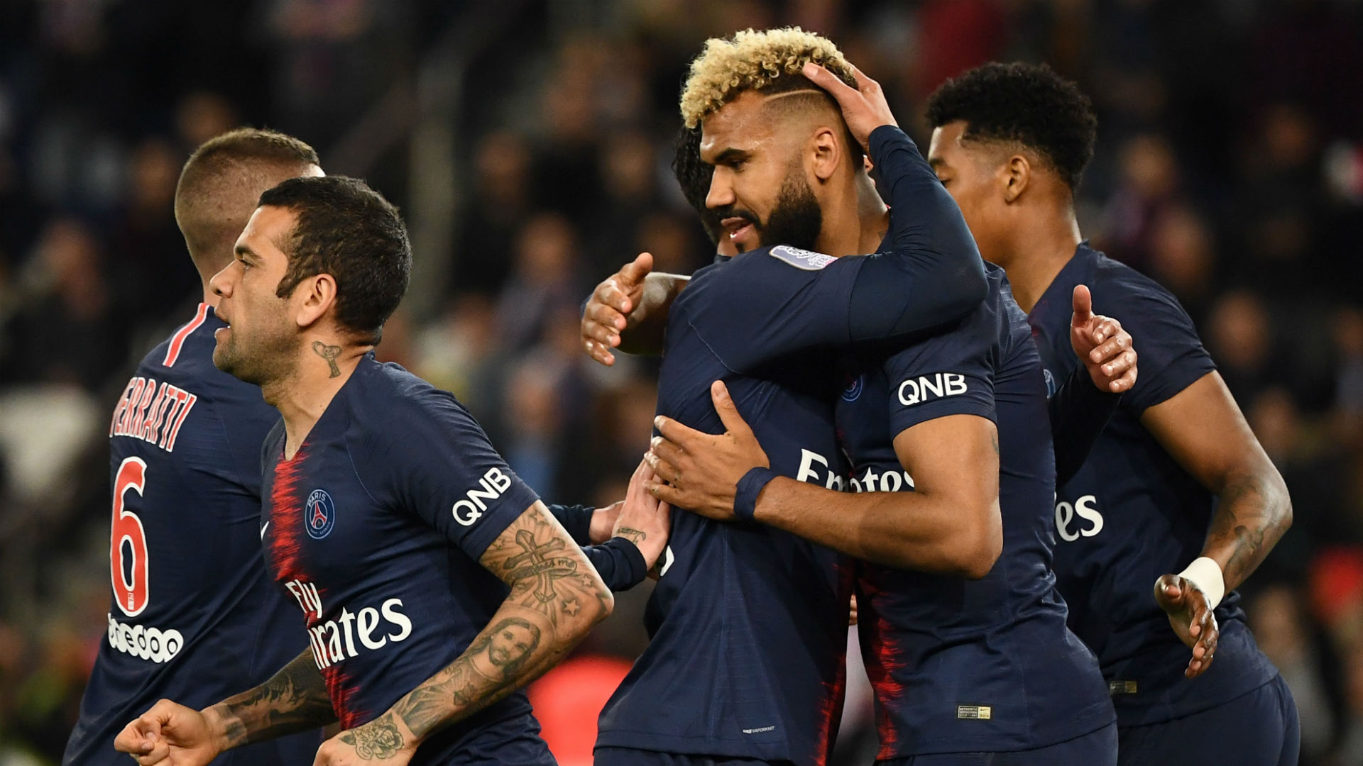 'We get on very well' - Choupo-Moting on his relationship with Mbappe, Neymar and other PSG stars