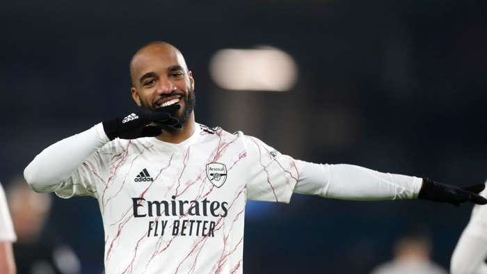 Lacazette Arsenal 2020