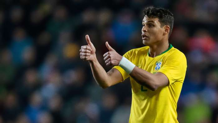 Thiago Silva Brazil Czech Republic Friendly 26032019