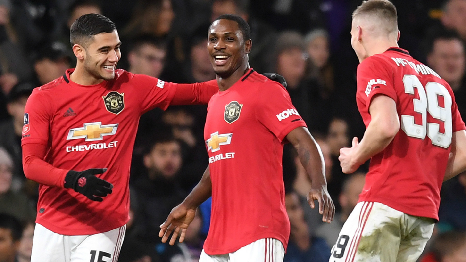 Ighalo strikes nominated for Manchester United Goal of the Month award