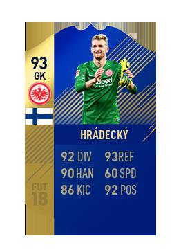 FIFA 18 Bundesliga Team of the Season Lukas Hradecky