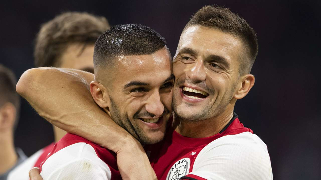 Hakim Ziyech, Dusan Tadic, Ajax
