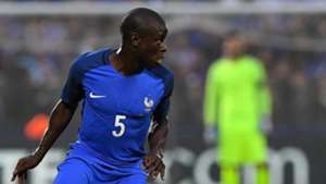 N'Golo Kante playing for France