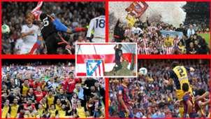 17 de mayo, fecha histórica para el Atlético con dos cabezazos de leyenda