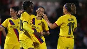 Oshoala battles Duggan as Barcelona and Atletico Madrid rekindle rivalry in Champions League