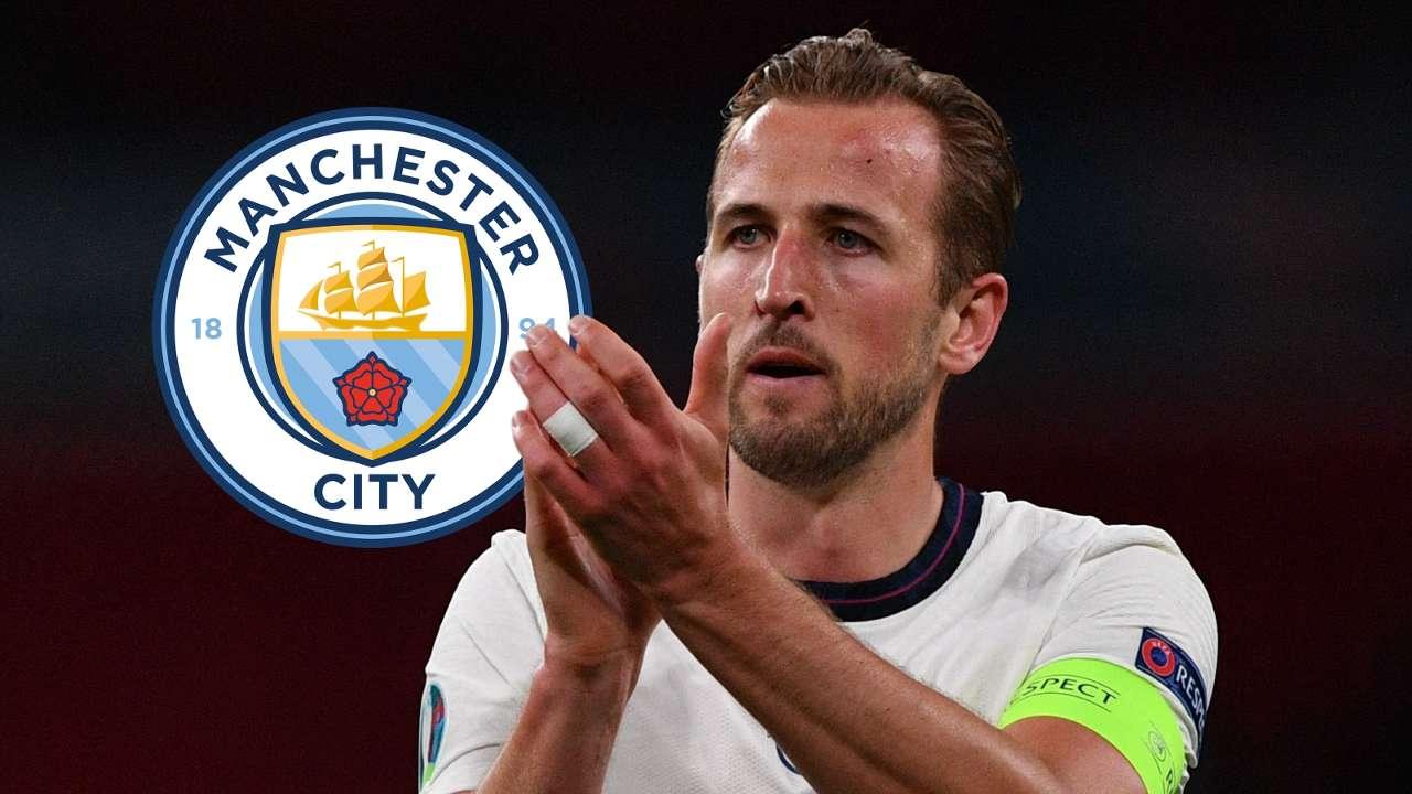 Harry Kane England Manchester City GFX