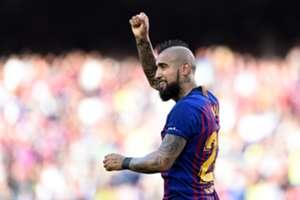 Arturo Vidal Barcelona Getafe LaLiga