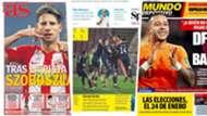 13 Nov newspapers
