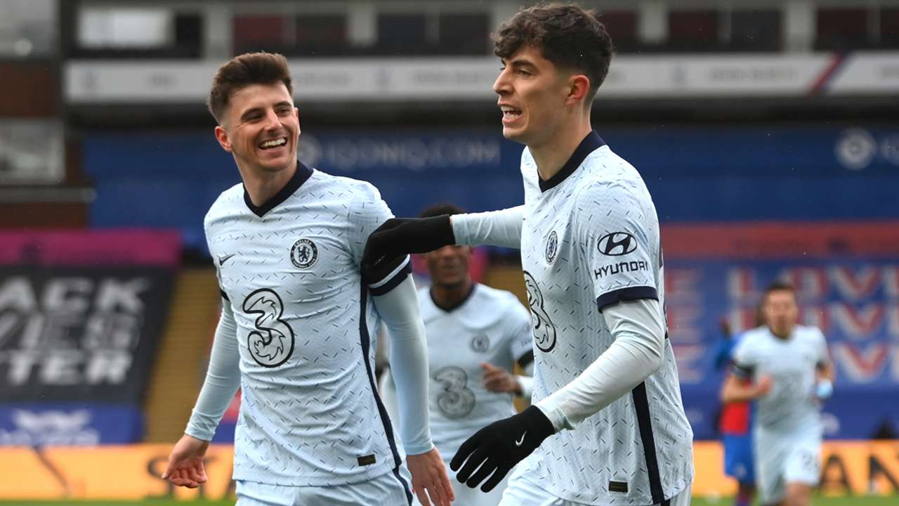 Kai Havertz Chelsea Crystal Palace Premier League 2020-21