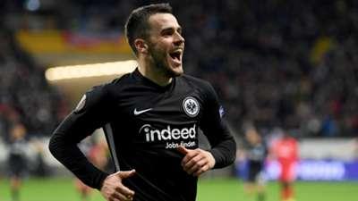 Filip Kostic Eintracht Frankfurt Salzburg Europa League 2020