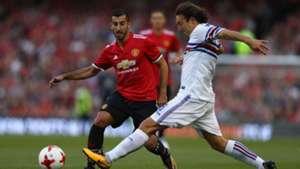Henrikh Mkhitaryan Edgar Barreto Manchester United Sampdoria 02082017