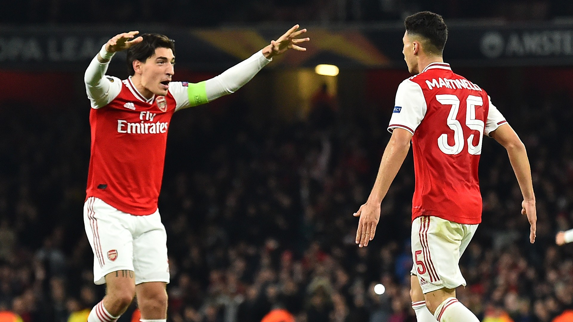 Bellerin reveals what makes Martinelli so special as he tips Arsenal hero to develop into star player