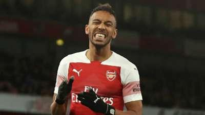 Pierre-Emerick Aubameyang Arsenal 2018