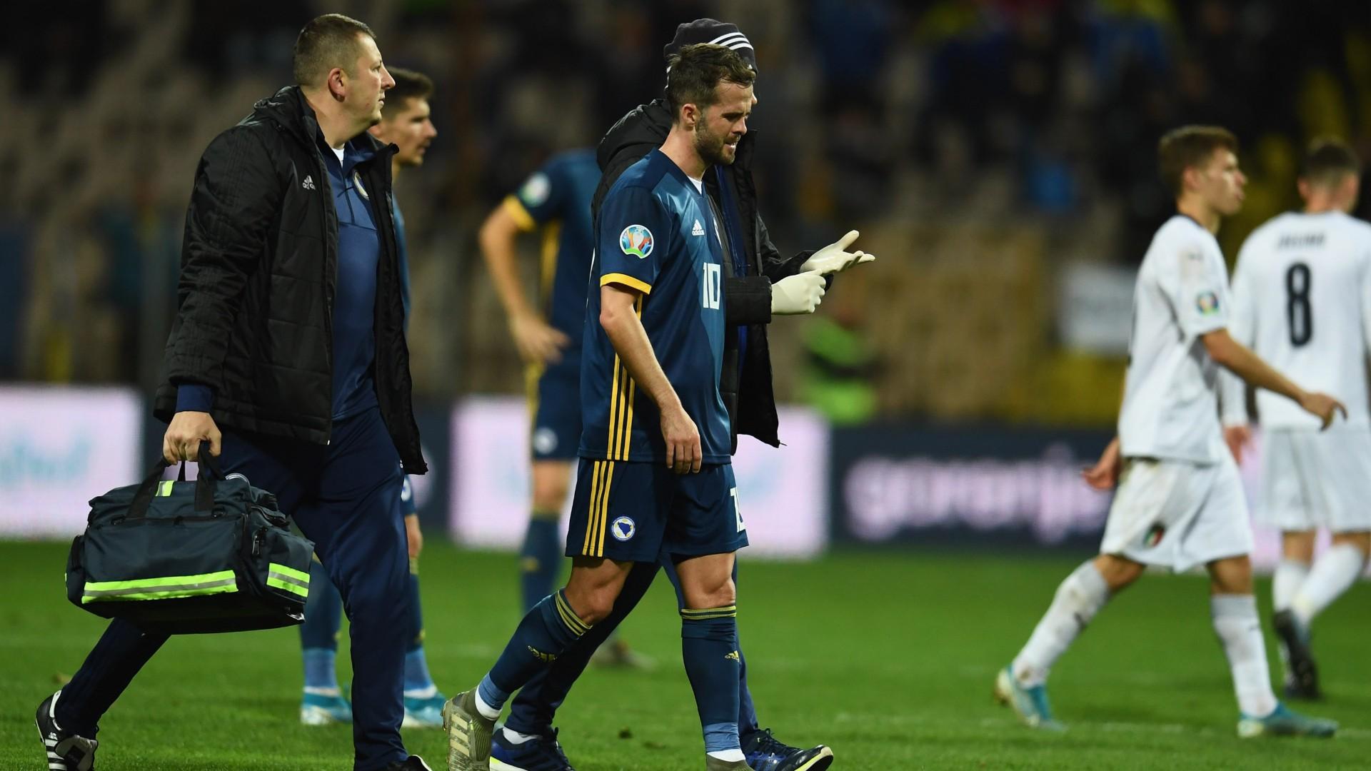 Juventus, Pjanic sull'infortunio: