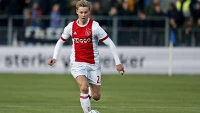 Frenkie de Jong, Ajax, Eredivisie 02182018