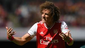Luiz bought into Arsenal's potential after difference of opinion with Chelsea boss Lampard