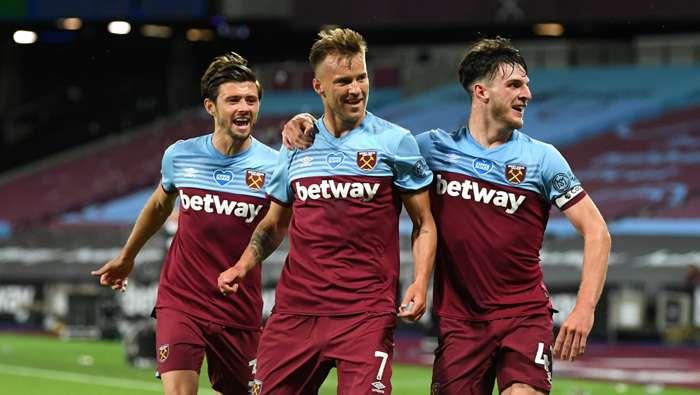 Andriy Yarmolenko West Ham vs Chelsea Premier League 2019-20