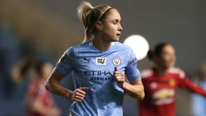 Steph Houghton Manchester City Women 2020-21