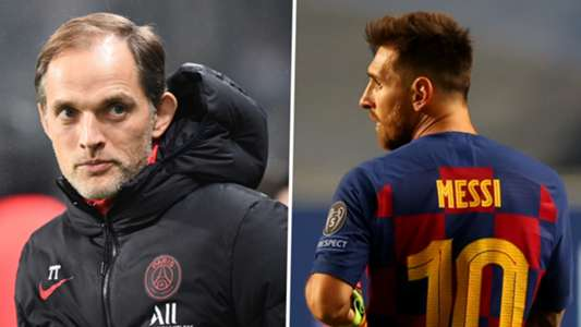 (Chuyển nhượng Barca) Messi được HLV PSG 'chào đón'   Goal.com