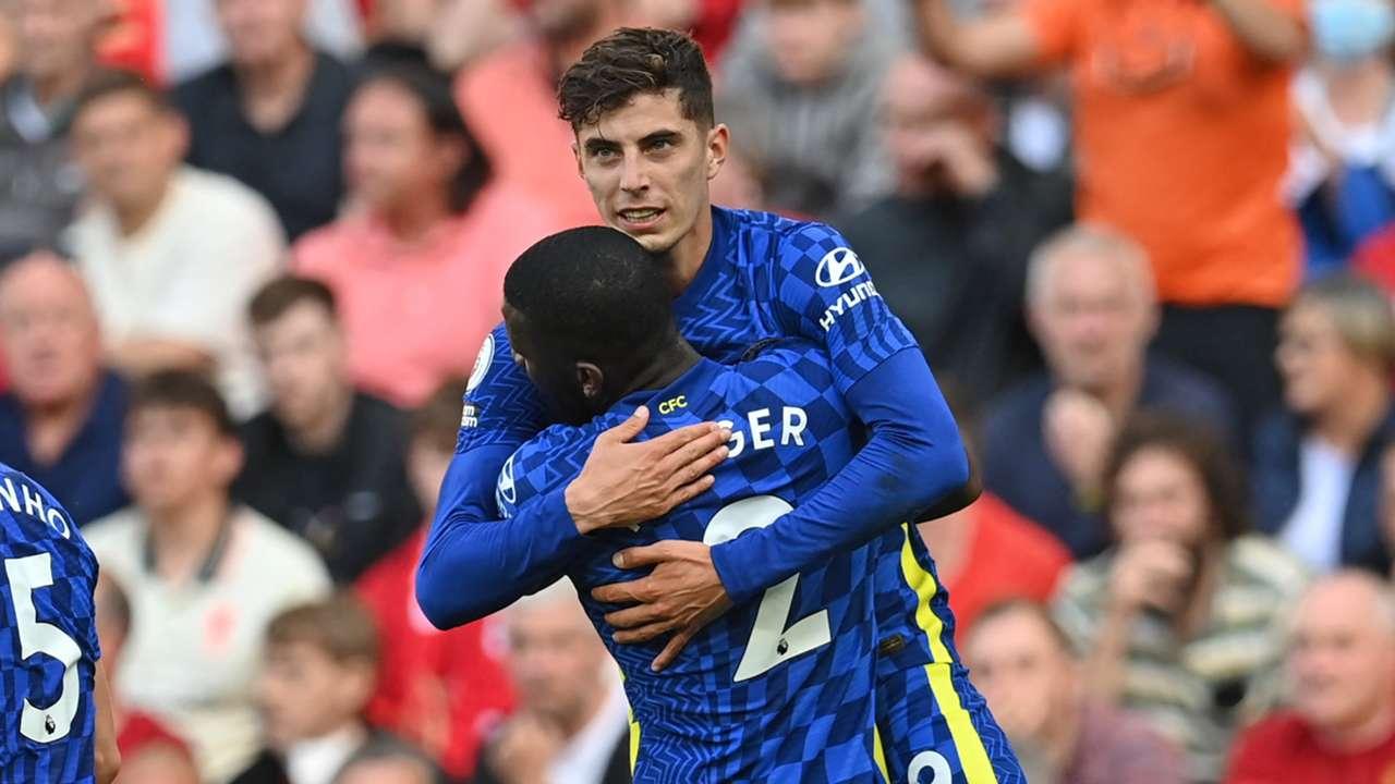 Kai Havertz Liverpool vs Chelsea Premier League 2021-22