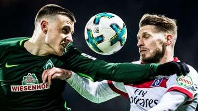 Maximilian Eggestein Werder Bremen Aaron Hunt Hamburg 2018