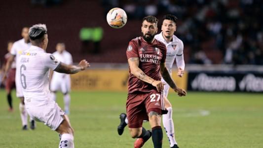 Pratto Liga de Quito River Copa Libertadores Fecha 1 Grupo D 04032020