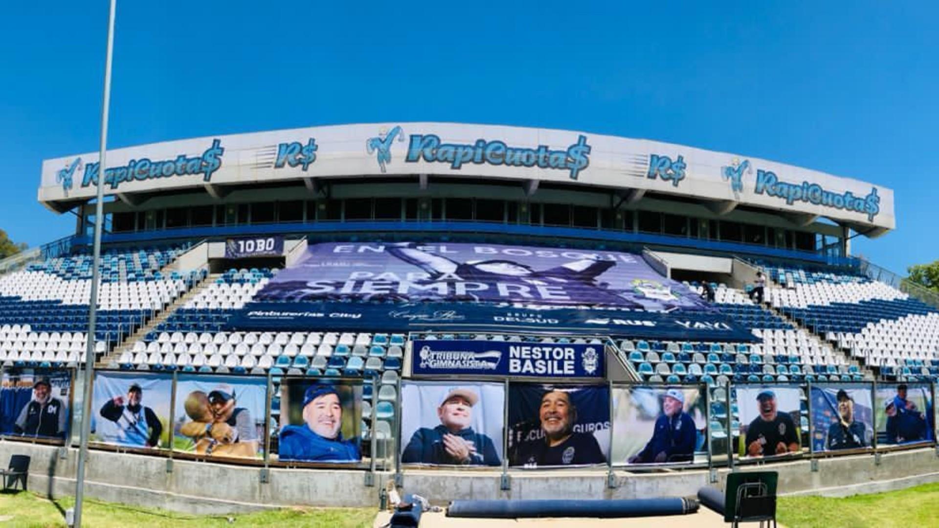 Dalma y Gianinna Maradona, presentes en el homenaje que Gimnasia le hizo a  Diego | Goal.com