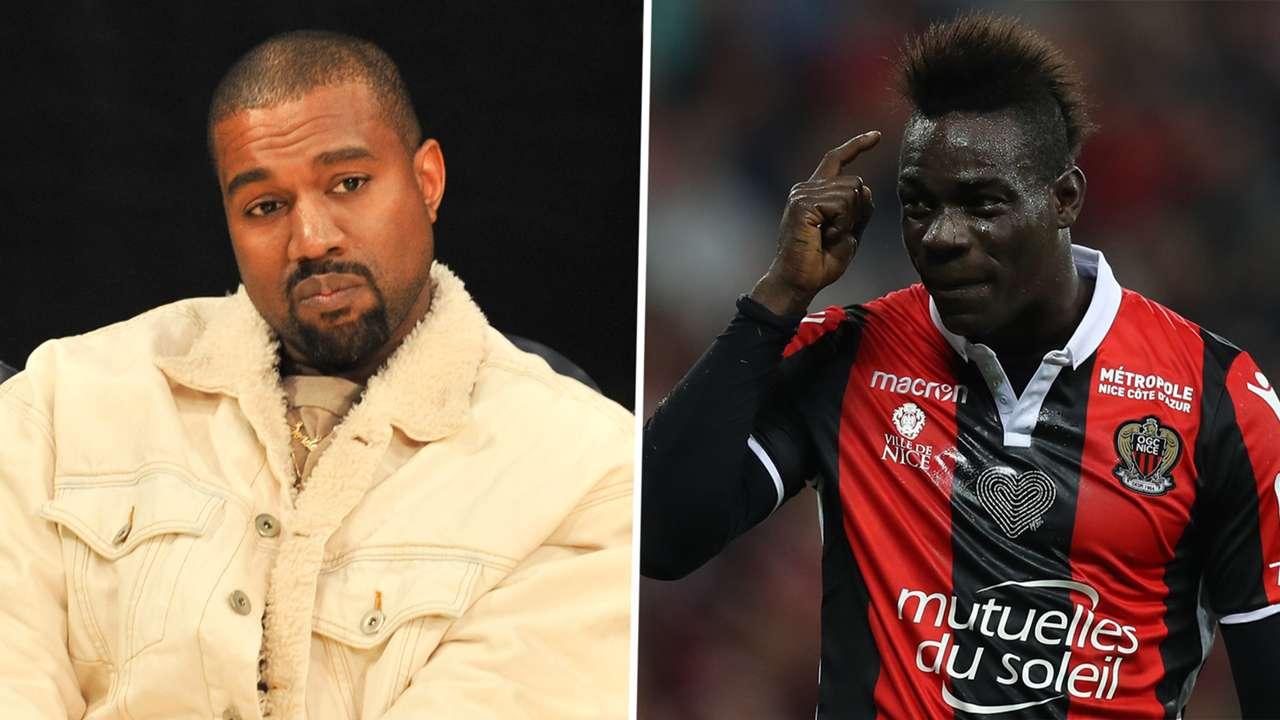 Kanye West Mario Balotelli GFX