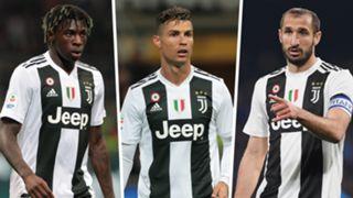 Kean Ronaldo Chiellini Juventus