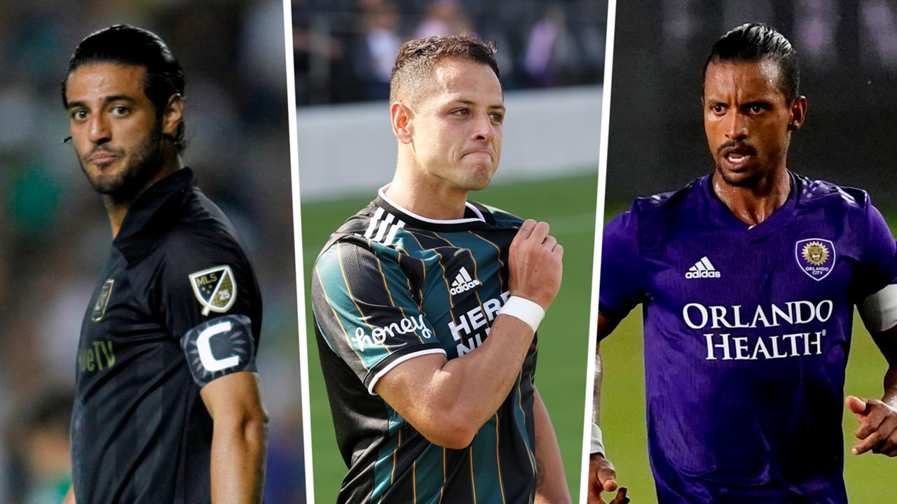 Vela Chicharito Nani MLS All-Star split
